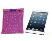 """Felt iPad Sleeve, iPad case, iPad sleeve case, Lace iPad cover, 8"""" x 10"""", Monogram ipad sleeve, Tablet cases, Sexy iPad bag, Felt iPad bag"""