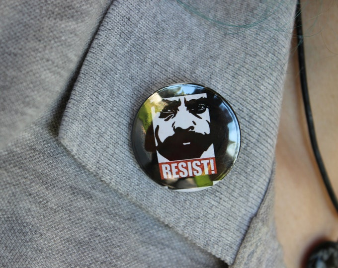 "Zapata Resist 1.25"" Pinback Button"