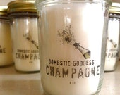 Champagne Sparkle 8 oz. Hand Poured Candle