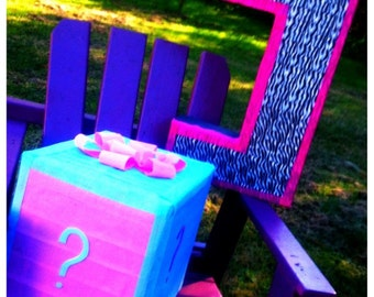 Guess the Gender - Baby Shower Pinata