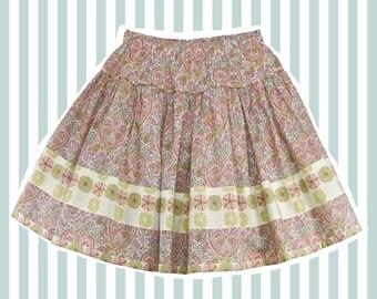 Girl's Liberty Print Skirt