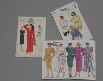 Very 80's Vogue Sewing Patterns