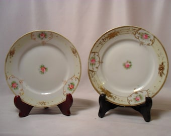 Set of Nippon Hand Painted Small Plates