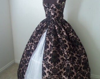 REnaissance Over DREss/ Gown Made for you YOu SUPply your favorite FABRIC!!!