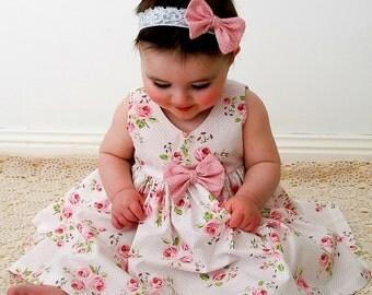 Gracelyn Dress Infant Size 3-6m, 6-9m, 9-12m, 12-18m