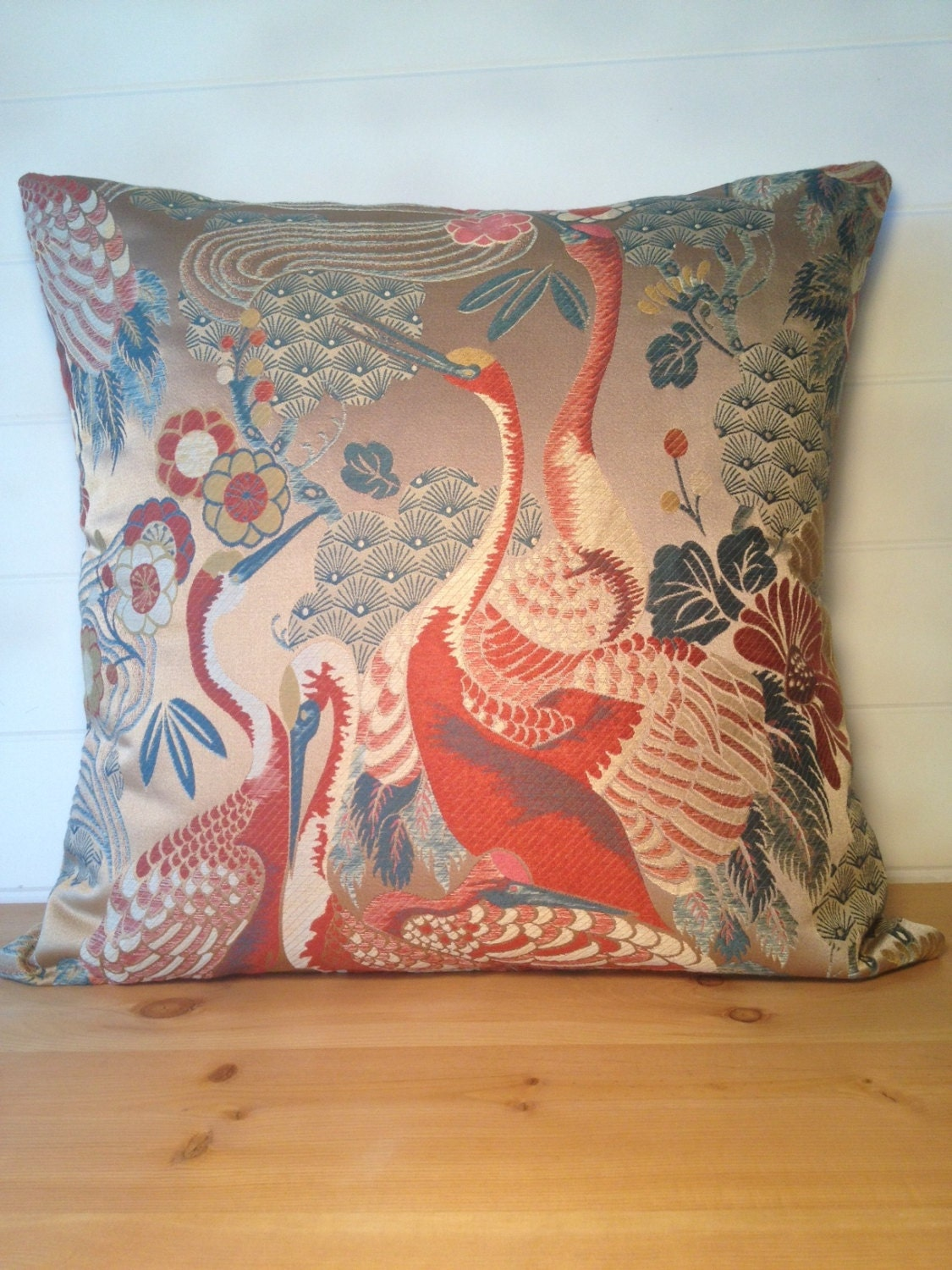 Luxury Throw Pillow Covers : High End Decorative Throw Pillow Cover Designer Egrets Luxury