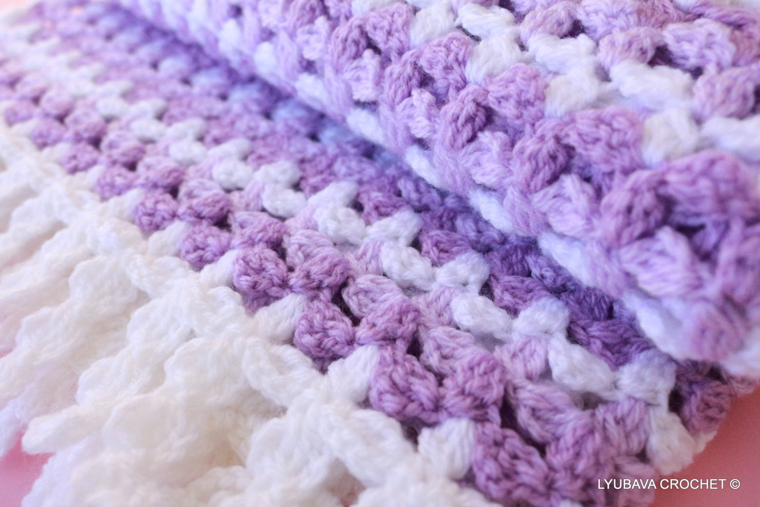 Crocheting Patterns For Baby Blankets Crochet Pattern Baby Blanket