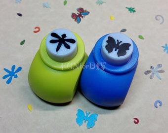 15mm medium size paper punch -- dragonfly OR butterfly