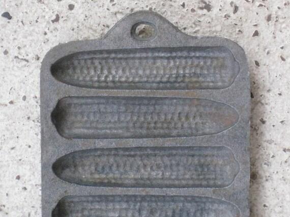 Antique Cast Iron Cornbread Pan - Small Size - Home Decor, Housewares ...