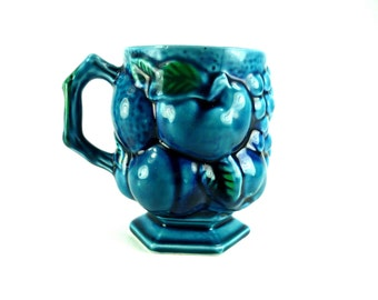 Inarco Mood Indigo Mug Blue Fruit Cup
