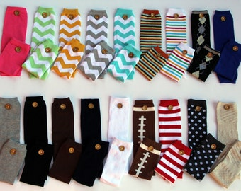 NEW Baby Boy Button Leg Warmers, Button Leggings, Baby Shower, Boys 1st Birthday, Christmas, Photo Props