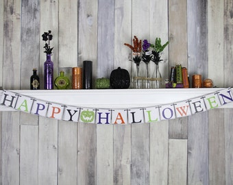 Halloween Decor, Halloween, Fall Decor, Halloween Decoration, Halloween Party, Home Decor, Halloween Sign, Trick or Treat, Halloween Banner