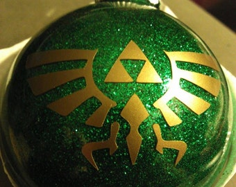 Legend of Zelda triforce ornament- personalizable