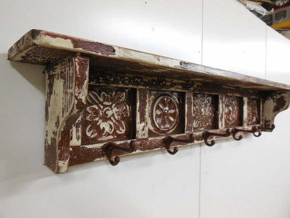 Items Similar To Primitive Wall Shelf French Country Wall