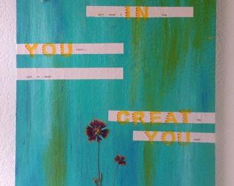 Life in You- original mixed media