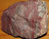 Burgundy, Lavender & Gray Fault Breccia Jasper Stone, Knap, Cab, Carve, Polishes Beautifully, Gorgeous Mottled Colors