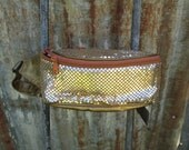 Gold Sequins Fanny Pack