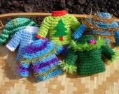 Tiny Sweater Ornaments