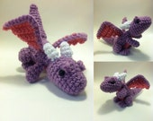 PATTERN-Baby Dragon-Crochet