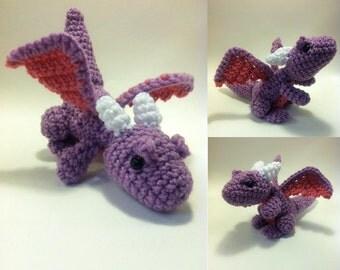 PATTERN-Baby Dragon-Crochet