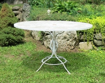 Woodard Sculptura Table Mid Century