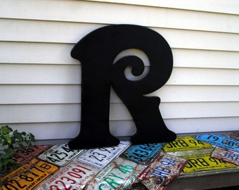 Wood Sign Letter, Wood Letter, Wall Letter, Painted Wedding Letter
