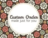 Custom order for Audrey2333