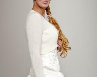 Wedding Jacket long sleeve made of soft merino cashmere