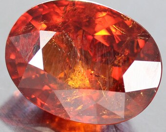 5.45 Ct. 100% Unheated Natural Spessartite Garnet Oval