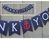 Thank You Banner / Photo Prop / Wedding / Reception / Candy or Dessert Bar / Custom Colors