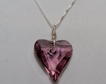 Wild Heart Crystal Pendant