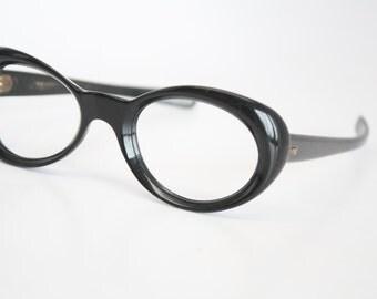 Small Vintage Glasses Vintage Eyewear Retro Glasses Cat Eye Frames