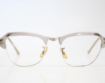 Cat Eyeglasses vintage Eyewear Retro Glasses Catseye glasses vintage frames 1/10 12k gold filled