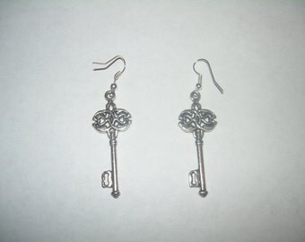 Keys the Past and Future Earrings