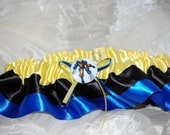 RUSH Custom Wolverine Xmen Themed Garter  for Weddings or Conventions