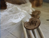 Whimsical Wedding Wands- Set of 5 by Burlap and Linen Co