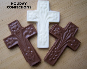 Chocolate Crosses - Religious Candy - Religious Chocolate