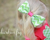 Matching Fabric Bow Clip or Headband to Outfit Ordered