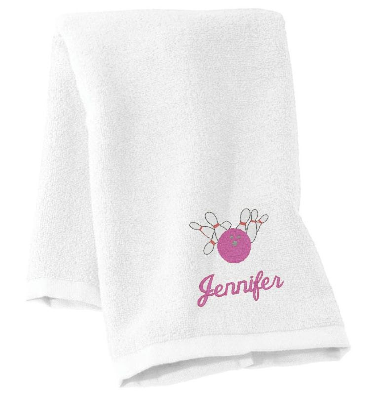 Bowling Gift Bowling Personalized Bowling Bowling Towel