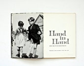 Rare Vintage 1960's Children's Book - Hand in Hand - Based on Award Winning Film, Children's Friendship, Adventure, Hanukkah Gifts, For Kids - msjeannieology