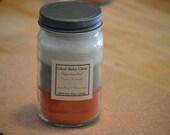 Sugared Sweet Potato, Specialty Layered Candle 16 oz. Mason Jar