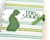 Keepsake Pregnancy Journal Scrapbook Album Pregnancy Gift Expecting Mom Gift