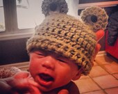 Reserved Listing for Ashlee: Frog Baby Beanie