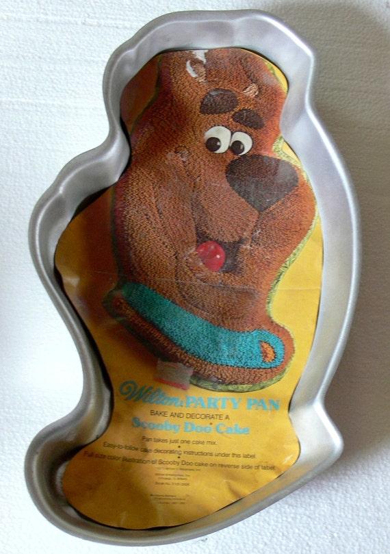 Vintage 70s Scooby Doo Wilton Cake Pan