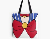 Sailor Moon Inspired Canvas Tote bag