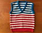 SALE Vintage Sweater Vest (toddler)