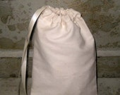 Premium Handmade Custom Made Muslin Bags 100% Cotton Unbleached Pouches 25 ECS