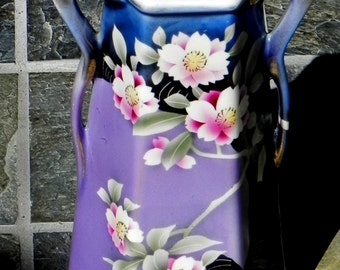 FOR CHARITY:  Art Deco Era Vase Floral Motif
