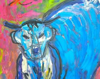 Art by Bertie - Cow