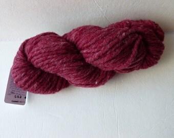 Sale Garnet Heather Bulky Yarn by Bartlett Yarn